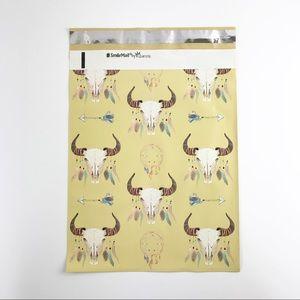 Edge Style Other - 50 Pack | Boho Skull Designer Polly Mailers